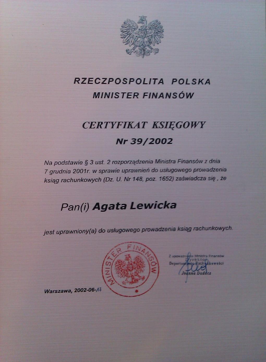 Agata Lewicka